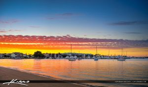 Sailboats-Anchored-at-West-Palm-Beach-from-Singer- by CaptainKimo