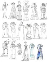 Victorian Paperdoll 1 by batchix