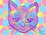 Cottoncandy Kitty by vylet-is-vylent