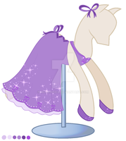 Galla dress for TehBronyPony by mea0113
