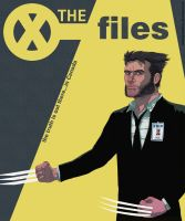 X-files with Wolverine by MekareMadness
