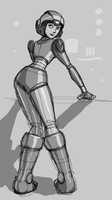 These boots were made for stomping space robots by AtomicTiki