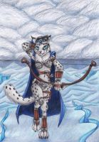 Snow Leopard Archer by Specter1099