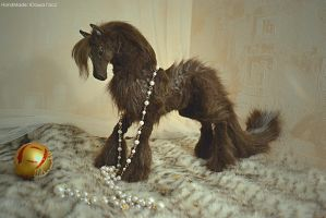 Doll horse Brown by JulyGass