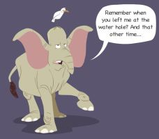 Charles the elephant by nut-meggers