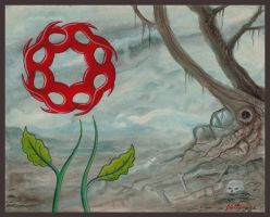 Flower of the Wasteland by offermoord