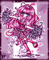 Magical Princess Miharu Chibi commission by tagl