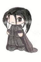 Pudgy Severus Snape by TheDeedleDee