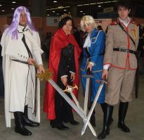 Group of Kyou Kara Maou by Dia-Rei