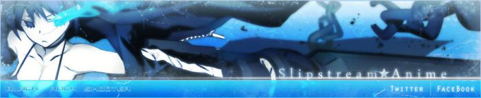 SSA Black Rock Shooter Banner by Ribbon-Ace
