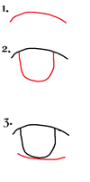 Simple Anime Eye Tutorial 2 by silverstream25