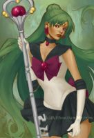 fanart. Sailor Pluto by kiikii-sempai