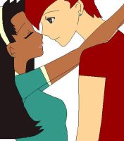 GB Total Drama: Zach and Michelle by Z-Kat