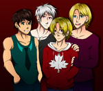 Here I Am Cover: Friends REDO by Lupoartistico
