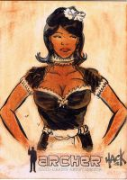 Archer Sketchcard 26 by RobertHack