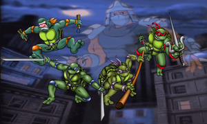 Heroes In A Half Shell by ProfessorMegaman