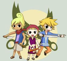 Wind Waker - Pirate Youths by Daboya