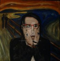 SCREAM Manson by gabgirl1