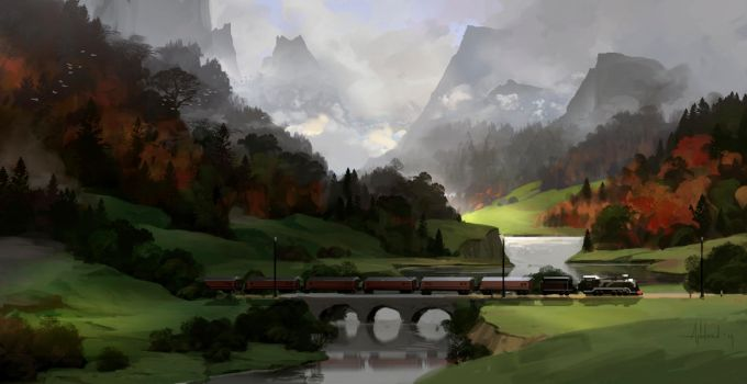 Train by Andead