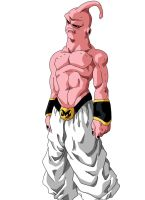 super Buu Color by RuokDbz98