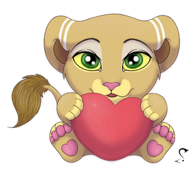Lioness stiker by SoloLioness
