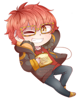 Mystic Messenger: 707 by SecretNarcissist