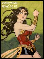 WONDER WOMAN by RENAE DE LIZ - FOR SALE! by RayDillon