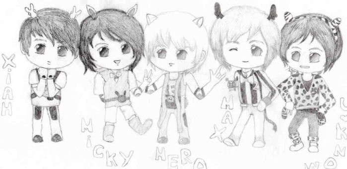 Mini DBSK by Jessyjones93
