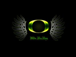 Oregon Duck Wings by ZelnickDesigns