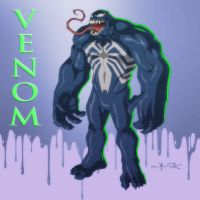 USM: MONSTER VENOM by Jerome-K-Moore