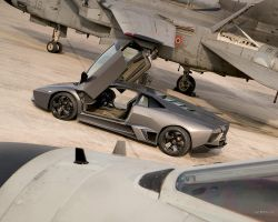 Lamborghini Reventon Back by TheCarloos