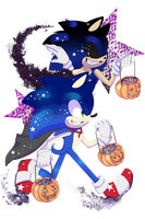 .:Sonic and Sonic.exe are Halloweenie Weenies:. by SonadowRoxmyWorld
