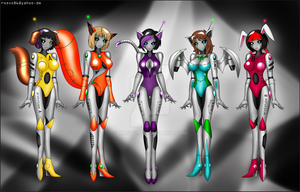 Robot Girls by Rosvo