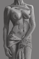 Figure Drawing of Torso VII by YbullStudio