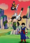 videl accidental wedgie by archangemon