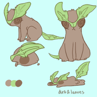 dirt and leaves by hatchl