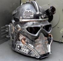 Power Armor Helmet Mk I (1) by Zilochius