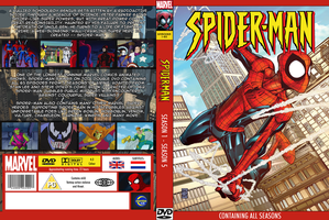Spider-Man TAS DVD Cover by Moelleuh