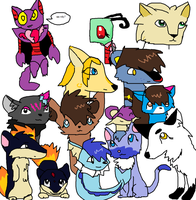 My friends on deviant art by poopydoopers