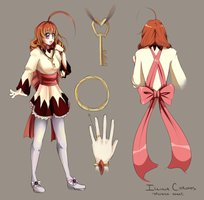 Illuna Chronos - Reference Sheet by Il-Luna