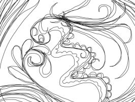 Continuous line challenge  by Taiya001