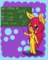 Art Status by Lali-the-Bunny
