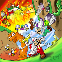 Super Mario 3D World 2 by Kincello