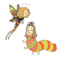 naterpillar and stepherfly by thalia-is-crazy