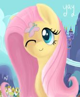 Fluttershy by MasterCheefs