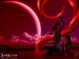 Korra Bloodbender: Blood Sea by SolKorra