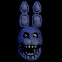 Unwithered bonnie head by CoolioArt