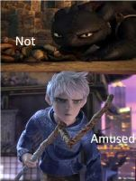 Jack Frost and Toothless Not Amused. by FictionLover987