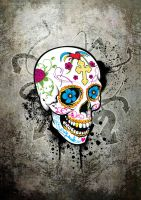 Sugar Skull by Plaedien