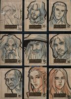 LOTR Masterpieces II 181-189 by aimo
